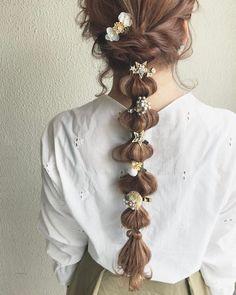 Kawaii Hairstyles, Diy Hairstyles, Pretty Hairstyles, Hair Inspo, Hair Inspiration, Hair Arrange, Aesthetic Hair, Dream Hair, Hair Looks