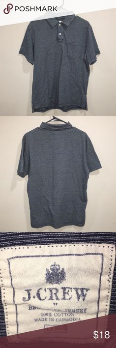 MENS J CREW SHIRT EXCELLENT USED CONDITION J. Crew Shirts