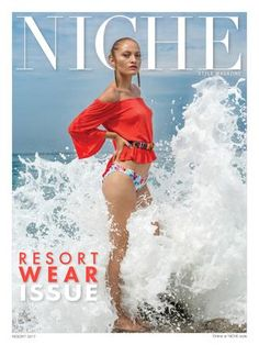 Niche Fashion Resort Wear 2017  NICHE has a different look to celebrate our fifth year; a new cover design and a refreshing new perspective inside the magazine as well. More stunning fashion and beauty images, more exciting model, industry icons and celebrity editorial features, and a whole lot more current fashion photography.