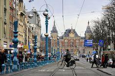 El transporte en Amsterdam
