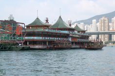 Jumbo Floating Restaurant in Hong Kong by Chew #travel #asia