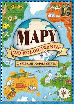 Mapy do kolorowania - Firma Księgarska Olesiejuk
