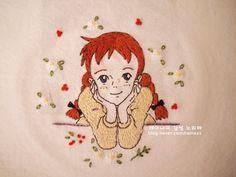 가을비가 요란한 하루네요 조금은 우울할 수도 있는 비오는 월요일~ 전 마음이 한껏 들 떠 있어요~^^ 그 이... Hand Embroidery Designs, Embroidery Patterns, Stitch Patterns, Cartoon Quotes, Cartoon Art, Cottage Art, Decoupage Art, Vintage Drawing, Old Anime