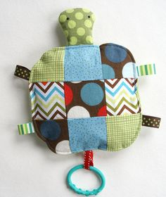 Cool taggy turtle toy.