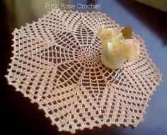 Crochet Mat, Crochet Dollies, Crochet Blocks, Crochet Mandala, Filet Crochet, Crochet Flowers, Crochet Square Patterns, Crochet Diagram, Doily Patterns