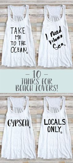 8d611e3d84028 10 Tanks For Beach Lovers! Beach Tank Top
