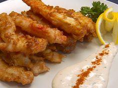 Alaskan King Crab Tempura recipe from Robert Irvine via Food Network Shellfish Recipes, Seafood Recipes, Appetizer Recipes, Appetizers, Lobster Recipes, Cajun Recipes, Food Network Recipes, Cooking Recipes, Cooking Ideas