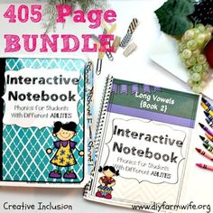 Phonics Bundle!  Long and Short Vowels Interactive NotebooksI am so excited to bring to you this interactive reading notebook, which focuses on differentiated phonics activities. I believe so much that you will love the separate long vowel interactive notebook AND the short vowel interactive notebook that I went ahead and bundled them for you!