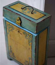 Rustic Wooden Wine Box