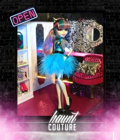 Monster High Feathered Frenchy Rochelle by HauntCoutureAtelier