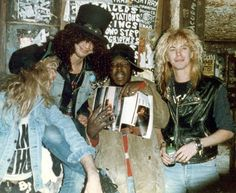 Photo of Guns N' Roses for fans of Guns N' Roses.