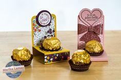 Ferrero rochers décorés à la Stampin' Up!