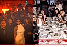 Sources familiar with the situation tell us ... the Kardashians believe French has been unfaithful to Khloe, and their evidence centers around his recent trip to Dubai.
