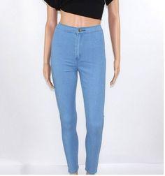 859625c0edb Dámské moderní elastické džíny světlé – Velikost L Na tento produkt se  vztahuje nejen zajímavá sleva