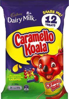 Cadbury Caramello Koala Sharepack 12 Ct. 180g.