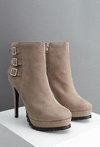 Tan Heeled Boots - Forever 21