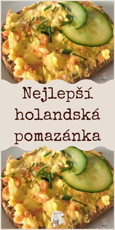 Slovak Recipes, Czech Recipes, Ethnic Recipes, Good Food, Yummy Food, Lchf, Baked Potato, Zucchini, Food And Drink
