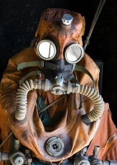 Submarine escape suit. photo 110129-7469EscapeSuit.jpg