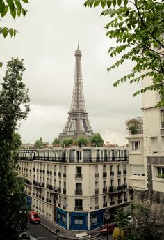 View out of my Paris apartment!