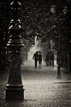 Love walking around aimlessly on rainy days