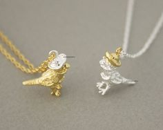 Too Cute For Words!!!!!!!! This is a dainty and delicate sparrow pendant necklace.  sparrow necklace, bird necklace, girls necklace, woman necklace, cute necklace, sparrow on hat, unique necklace, tin