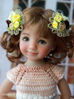 Купить Заколки для кукол - комбинированный, заколка для волос, заколка, заколка для девочки, заколка для куклы