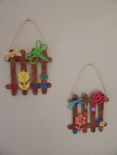 Popsicle Sticks, Felt Flowers, Activities, Children, Camping, Manualidades, Projects To Try, Mother's Day, Felted Flowers