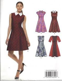 New Look - 6299 Jurk Dress with collar nurse joy cosplay