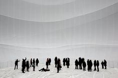 Christo Big Air Package, Gasometer Oberhausen, Germany, 2010-13 Photo: Wolfgang Volz © 2013 Christo