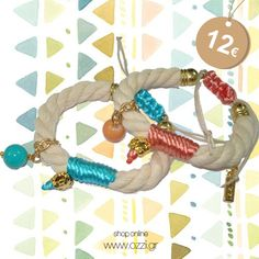 #bracelets #pastel #jewellery #gifts #summer2014 #fashion2014 #accessories #ozzi_jewellery
