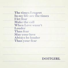 Wisdom / Sarah Durham Wilson / Do It Girl / DOITGIRL / https://www.facebook.com/DOITGIRLS / Insight <3