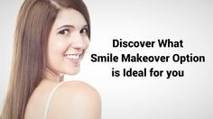 A Smile Makeover combines functionality with an aesthetic touch in order to achieve the desired appearance of your smile