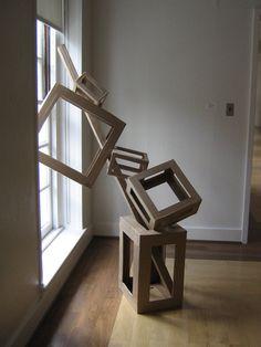 Cardboard Sculpture design