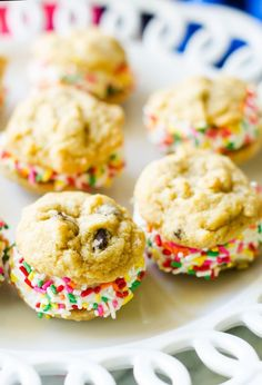 hese Chocolate Chip Ice Cream Sandwiches are perfect for summer celebrations! Even better, they are gluten-free! #ad