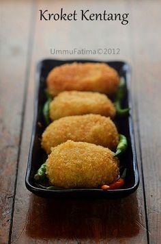 Resep Kroket Kentang Enak Lembut : resep, kroket, kentang, lembut, Cemil2