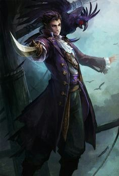 pirate fantasy art