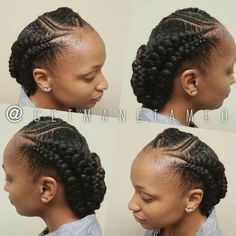 Neat Fishbone Braids - 20 Gorgeous Ghana Braids for an Intricate Hairdo in 2019 - The Trending Hairstyle Ghana Cornrows, Ghana Braids Hairstyles, Girl Hairstyles, Braided Hairstyles, Cornrows Updo, Sisterlocks, African Hairstyles, Cornrow Designs, Braid Designs