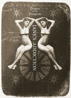 Janes Addiction Tour Poster