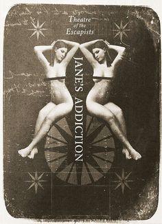 Janes Addiction Tour Poster