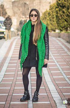 Thessaloniki, Street Fashion, Greece, Vest, Street Style, Jackets, Urban Fashion, Greece Country, Down Jackets