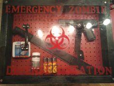 Zombie survival kit!