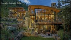 Original design by Berglund Architects in Vail, CO