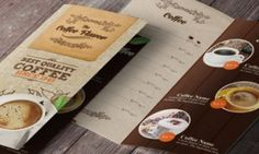 Refreshing Coffee Shop Brochure Designs   Refreshing Coffee