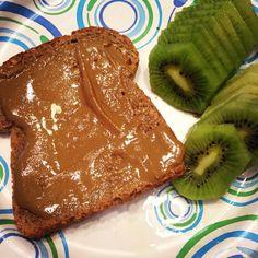Ezekiel Bread makes breakfast easy.