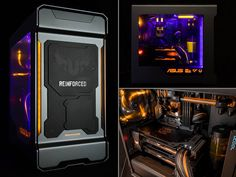 50mm Case Mods has put together Project REINFORCED all decked out in TUF grey-orange with UV lights bringing this build to life! What do you think of this amazingly TUF project?  Build log: https://linustechtips.com/main/topic/452895-project-log-reinforced-tuf-z170-sabertooth-980ti-sli/