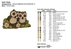 DeviantArt is the world's largest online social community for artists and art enthusiasts, allowing people to connect through the creation and sharing of art. Cross Stitch Owl, Cross Stitch Charts, Cross Stitching, Cross Stitch Patterns, Puppies And Kitties, Animal Decor, Deviantart, Woodland Animals, Embroidery