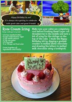 Acnl How To Get Birthday Cake