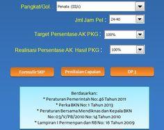 [.xls otomatis] Download Aplikasi SKP untuk Kenaikan Pangkat Tahun 2016 Format Microsoft Excel Microsoft Excel, Microsoft Windows, Aga, Filing, Dahlia, Recovery, Buffet, Pony, Geek