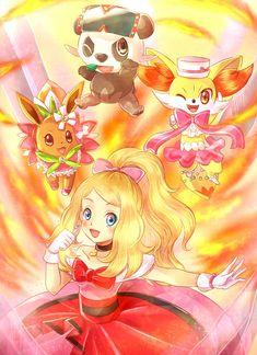 Genial!! <3 1 de 2 #PokémonXY #KalosQueen