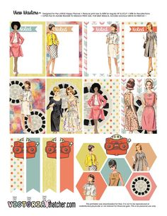Free Printable View Masters Planner Stickers from Victoria Thatcher